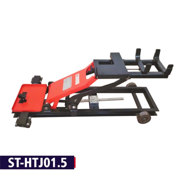 ST-HTJ01.5 -Heavy Duty 3in1 Universal Hydraulic Trolley for Lifting ATS, Gear Box with Retarder and Crown.
