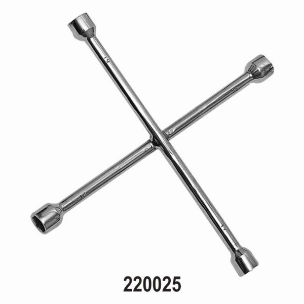 220025 - Four way Wheel Nut Wrench for Passenger Cars