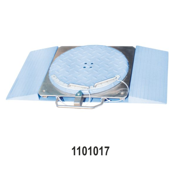 Mechanical Turn Table | Turn Plate for Passenger Cars with Scale, Ramp and Center Line