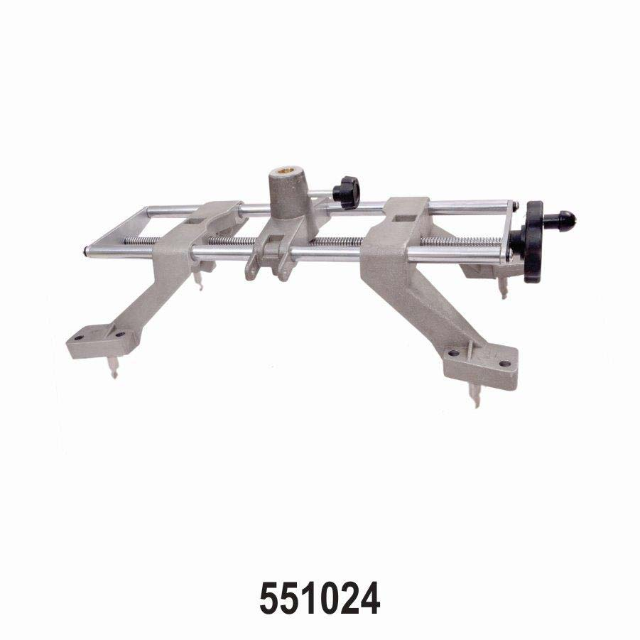 Sarv-Wheel Clamp for Measuring Head of Wheel Alignment M c Four point with Push Tyre Fingers (claws) for Cars LCVs Truck Bus Wheels