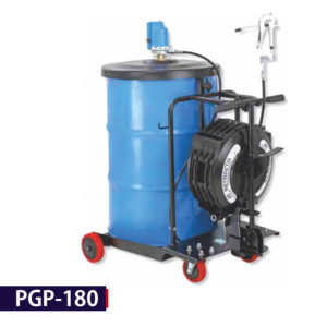 PGP-180 - Portable Greasing System for Trucks & Buses