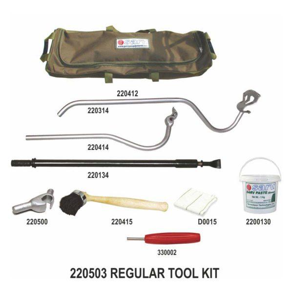 - Sarv-Tubeless Truck BusTyre Mount Demount SMART Tool Kit