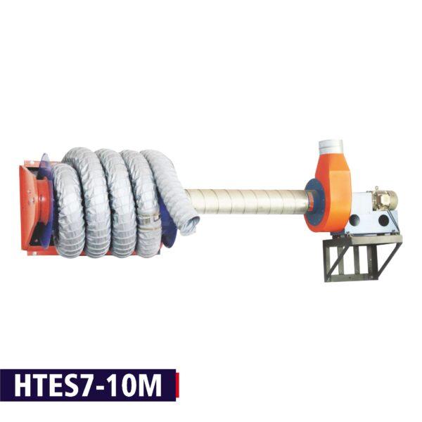 Vehicle Exhaust Extraction DPF Regeneration Hose Reel 700 Deg for Bus | Trucks | HCVs