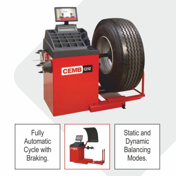 Truck Wheel Balancing Machine & Accessories