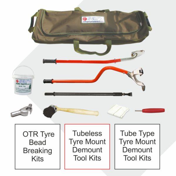 Tyre Mount Demount Tool Kits