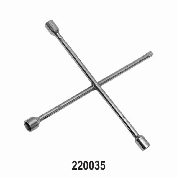 Four way Wheel Nut Wrench for Passenger Cars