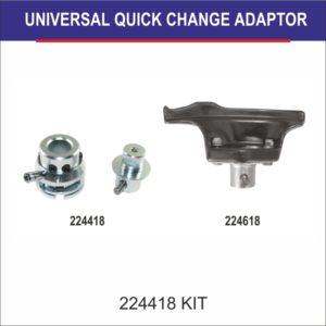 SARV Introducing Universal Quick-Change Adaptor! Speeden your process of changing between Plastic & Metal Duck Head/ Mounting Demounting Tool!