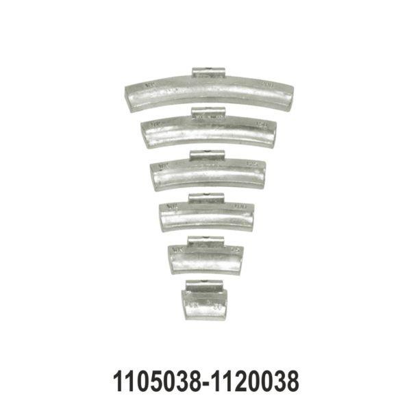 Wheel Balancing Weights for LCV Steel Rims
