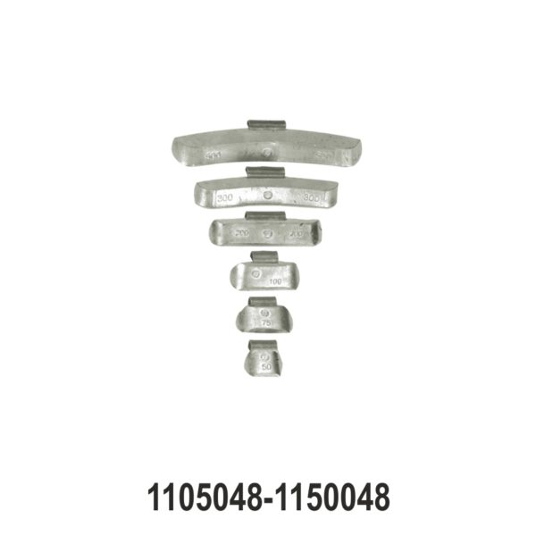 Wheel Balancing Weights for Truck/Bus Steel Rims