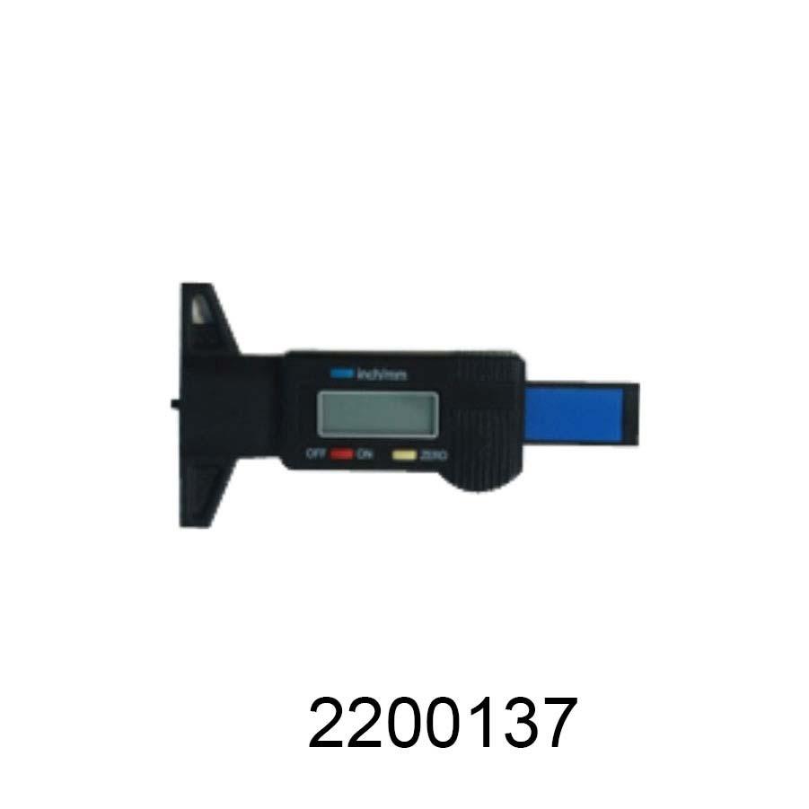 Digital Depth Gauge 0-50mm for Passenger Car Tyres