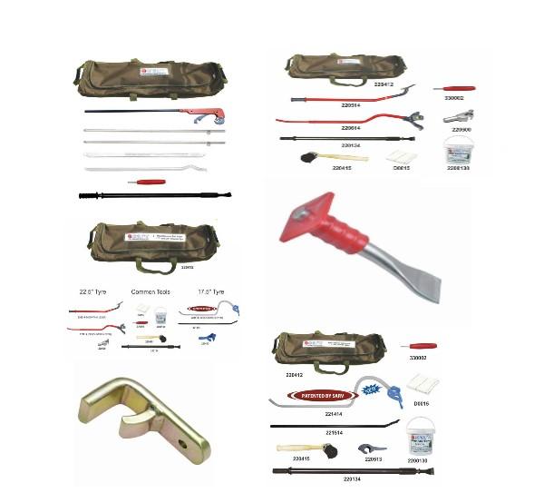 Truck Tyre Mount Demount Tool Kits