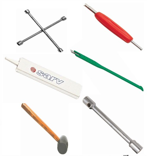 Recommended SARV Car Tyre Tools