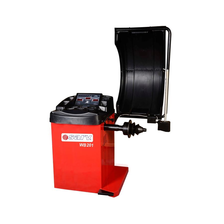 WB 201 -Automatic Wheel Balancing Machine for Cars & LCV's
