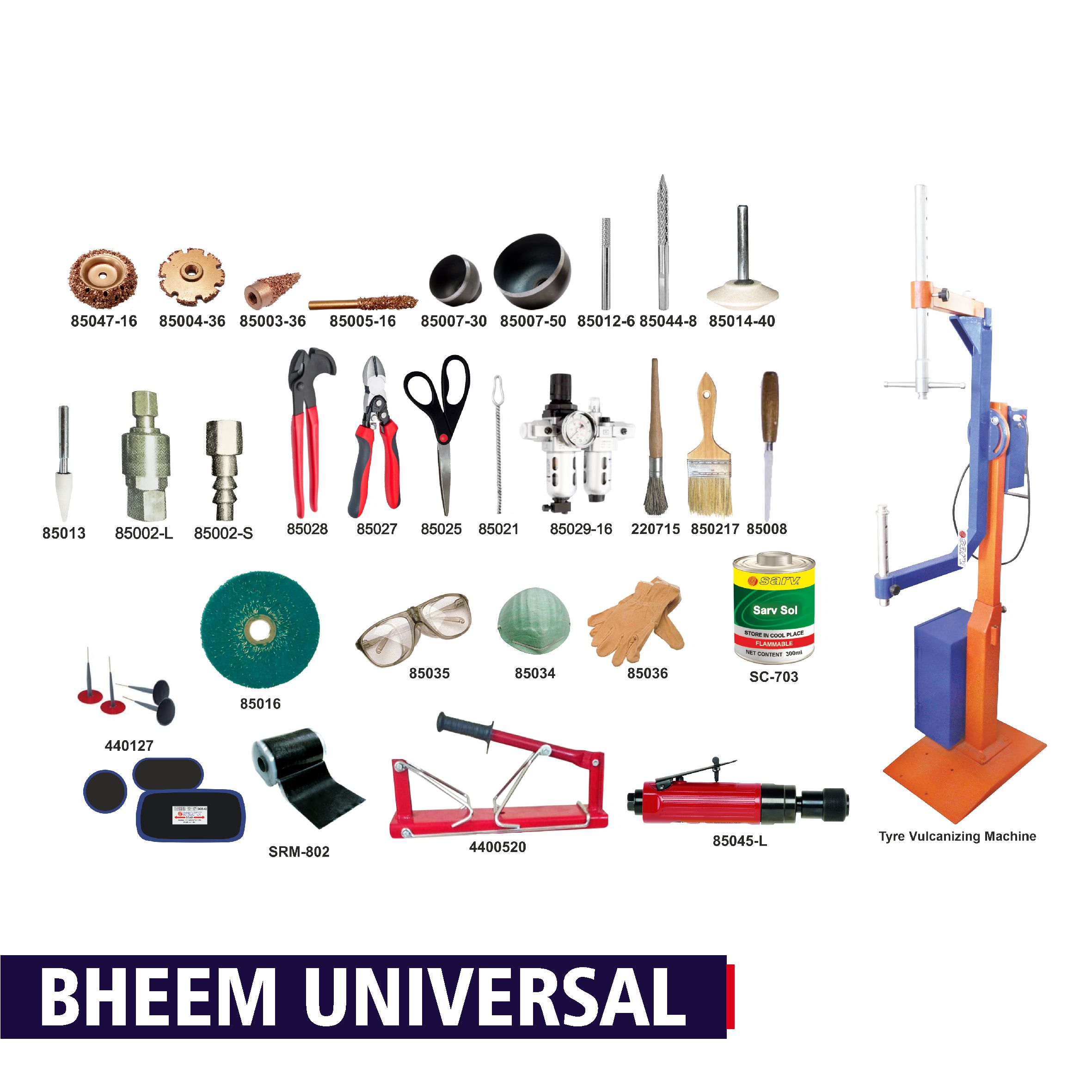 Bheem Universal Tyre Repair Kit