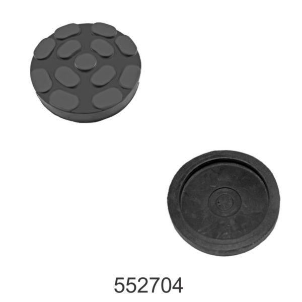 Round Rubber Pad for 2 Post Lifts Dia 100mm , Thickness 21mm.
