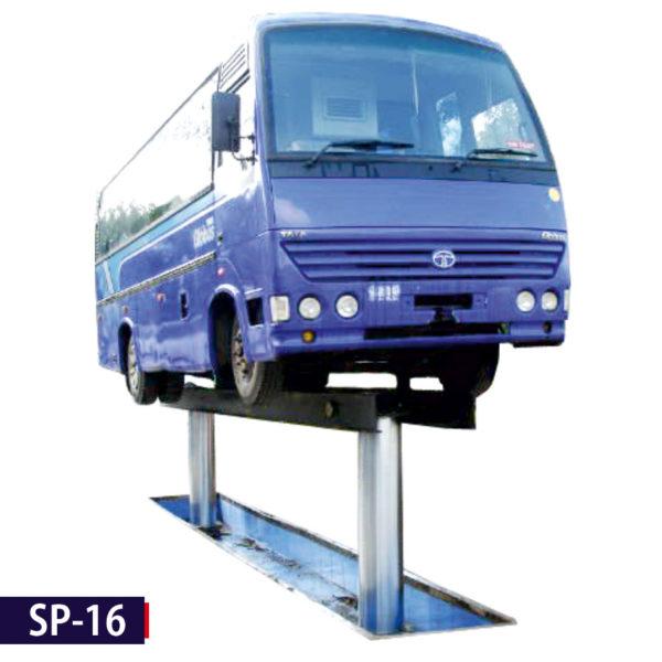 SP-16 2 Post Washing Lift -for Trucks & Buses