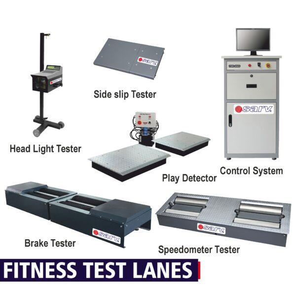 Fitness Test Lanes for buses & trucks