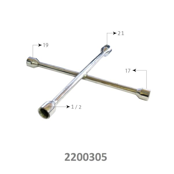 10 way cross spanner, 4 way spanner, 4 way wrench